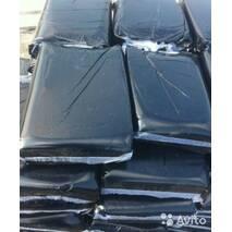 Мішки поліетиленові для сміття чорні щільні 70 мкм (50 шт/уп)