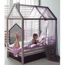 Детская кровать Дом