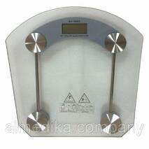 Весы електронні підлогові SH - 8003 (стекло)
