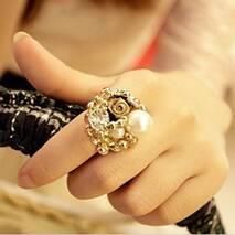Кольцо Jewel Town золотистое VK097, one size
