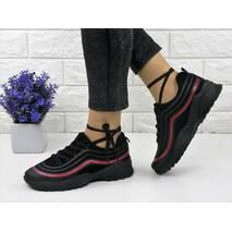 Женские кроссовки Melanie черные 1091