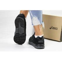 Кроссовки женские черные Asiсs 5825