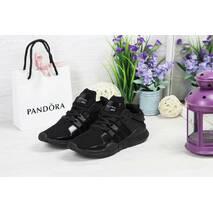Кроссовки женские черные Adidas Equipment adv 91-17 4744