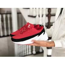 Женские зимние кроссовки красные Adidas Sharks 8653