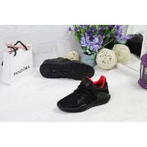 Кроссовки женские черные Adidas Equipment ADV/91-17 5264