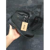 Мужские зимние ботинки Ecco Proof черные 3526