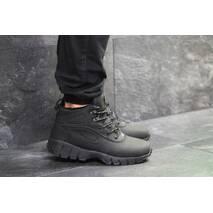 Мужские ботинки черные на зиму Lunarridge Nike 6529