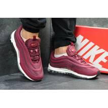 Кроссовки мужские бордовые Nike 97 5915