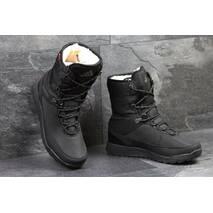 Зимние женские угги Adidas Terrex черные 3531