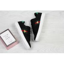 Кроссовки женские черно- белые Gucci 5553