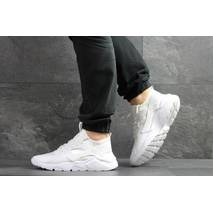 Мужские кроссовки белые Nike Huarache 7896