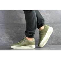Мужские кроссовки темно зелены Nike Air Force 1 8093