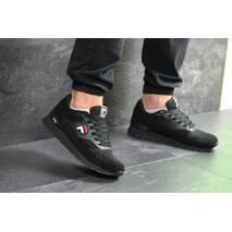 Мужские кроссовки черные Fila 7391