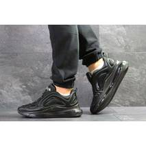 Мужские кроссовки черные Nike Air Max 720 7063