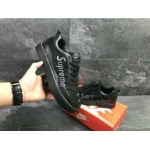 Мужские кроссовки черные Nike Supreme 7018
