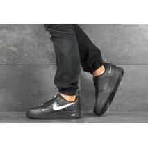 Мужские кроссовки черные Nike Air Force 1 8190