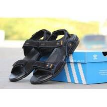 Мужские сандалии Adidas черные 2199