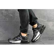 Мужские кроссовки черные с белым Nike 8132