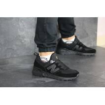 Мужские кроссовки черные New Balance 574 8430