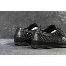 Туфли спортивные черные Vankristi 5219