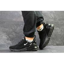 Мужские кроссовки черные с белым Nike Air Max 270 7003