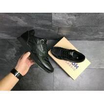 Мужские кроссовки черные Reebok Classic 7283