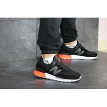 Мужские кроссовки черные с белым New Balance 574 8429