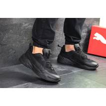 Мужские кроссовки черные Puma 7739