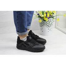 Кроссовки женские черные Nike Huarache 4321