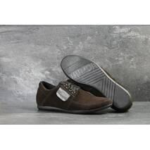 Мужские туфли коричневые 7505
