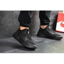 Мужские кроссовки черные Nike Huarache 7895