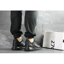 Мужские кроссовки черные Nike Air Max 270 x Supreme 7454