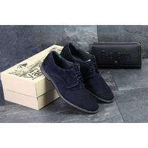 Мужские туфли темно синие Vankristi 7452