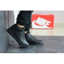 Мужские кроссовки черные Nike Air Force 8441