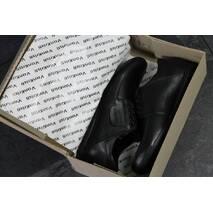 Мужские туфли черые 7506