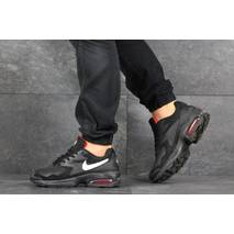 Мужские кроссовки черные с белым Nike Air Max 2 8160