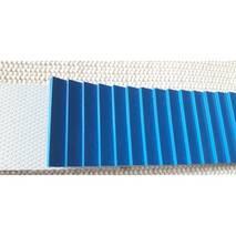 Стрічка для хліборізки PVC (ПВХ)-синя зубчаста P22-86/6N