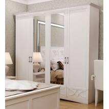 Шафа гардеробна Бланка з дзеркалом