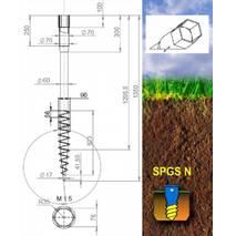 Геошуруп серии SPGS - N 89 x 1500 x 3,5
