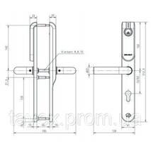 Электронные дверные накладки APERIO - E100