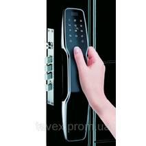 Замок электронный биометрический автоматический дверной F8