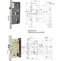 Замок электромеханический с доступом по бесконтактной карте 918XX-2