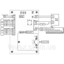 Контроллер доступа сетевой на 1 дверь (2 считывателя 26/34бит)