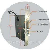 Замок электронный дверной с доступом по бесконтактной карточке 7001
