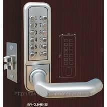 Замок кодовый механический INV с доступом по кодовой клавиатуре INV-CL209B-SS