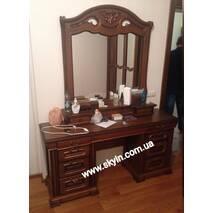 Туалетний столик двохтумбовий Орхідея із дзеркалом з надбудовою