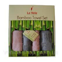 Набір рушників бамбук (обличчя банячи) від Le Vele