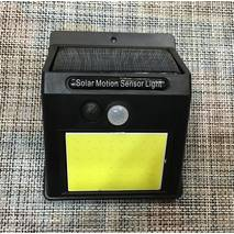 Світильник вуличний з датчиком руху і сонячною панеллю 48 led / 552
