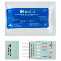 Тест на 10 наркотиков: амф., мар., морф., мет., барб., бенз., кокаин, фенцикл., метадон, МДМА W2010-P