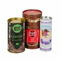 Картонные тубусы под чай и кофе